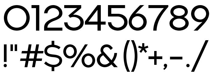 NEXTART-Regular Font OTHER CHARS