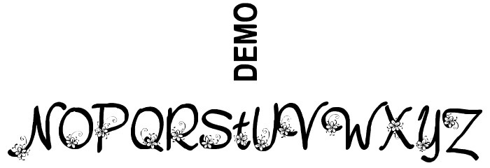 Nebulo Demo Font OTHER CHARS