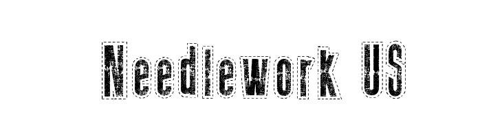 Needlework US  Free Fonts Download