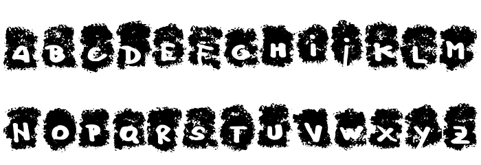 Negative_Frequences_Regular Font LOWERCASE