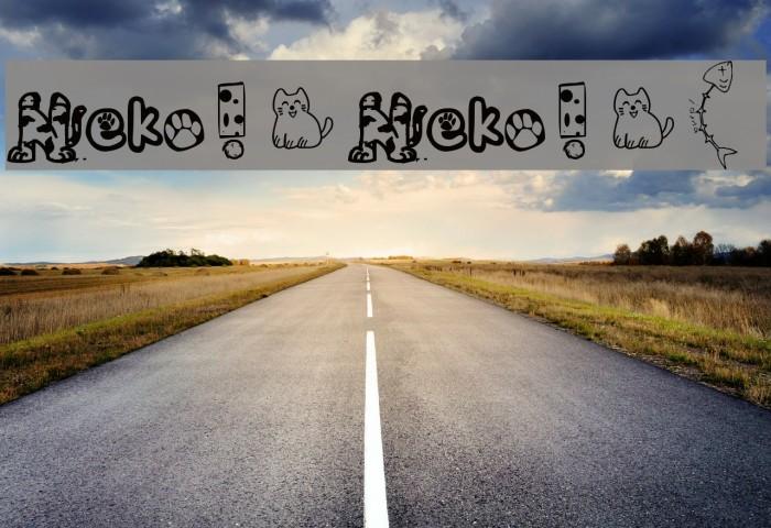 Neko! Neko! [ Font examples