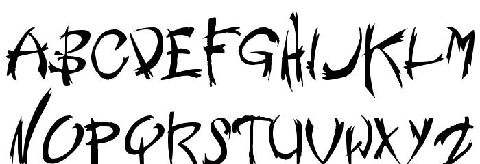 Nemesis Shareware لخطوط تنزيل الأحرف الكبيرة