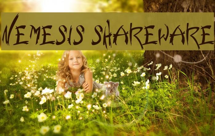 Nemesis Shareware لخطوط تنزيل examples