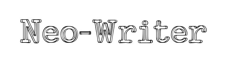 Neo-Writer  les polices de caractères gratuit télécharger