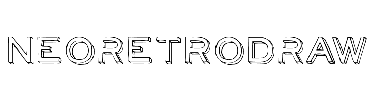 NeoRetroDraw  Free Fonts Download