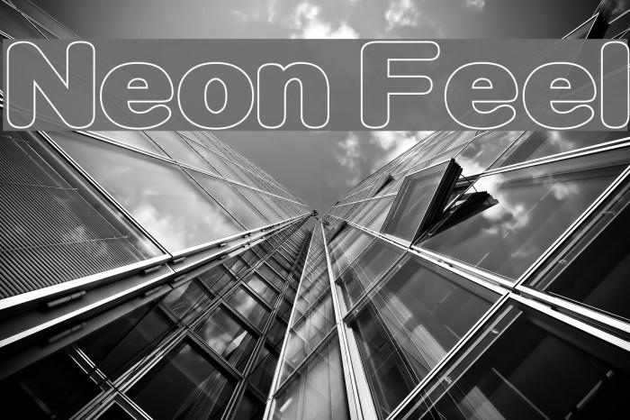 Neon Feel फ़ॉन्ट examples