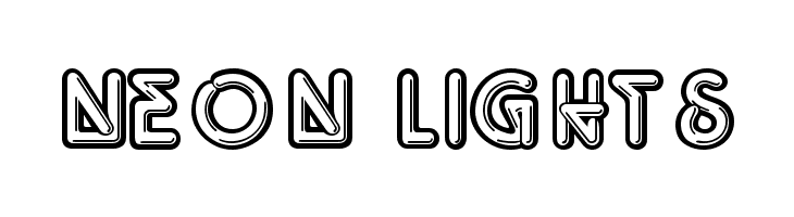 Neon Lights  Free Fonts Download