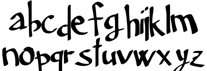 Neuer_Winter_Regular Font LOWERCASE