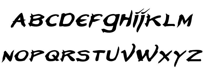Neverwinter Italic फ़ॉन्ट लोअरकेस