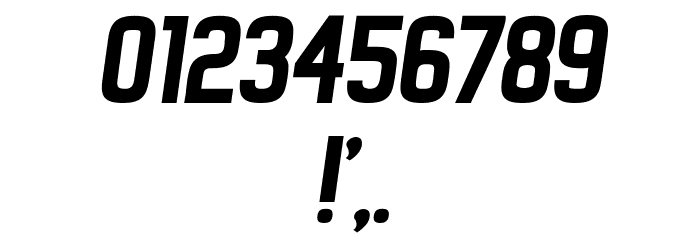 New Amsterdam Italic Font OTHER CHARS