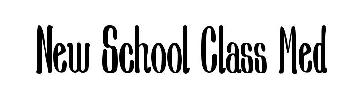 New School Class Med  لخطوط تنزيل