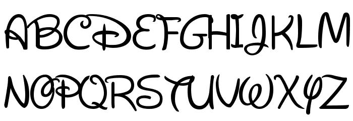 New Walt Disney Font Regular Font - free fonts download