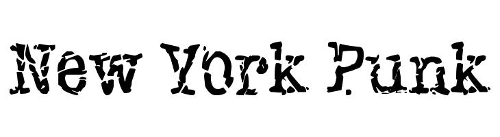 New York Punk  Frei Schriftart Herunterladen