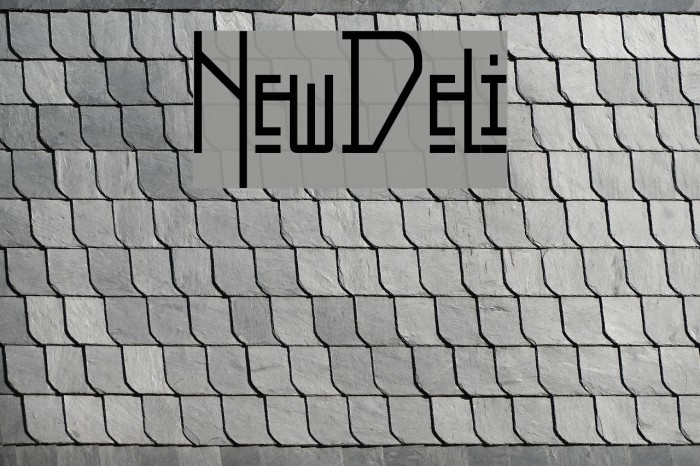 NewDeli फ़ॉन्ट examples