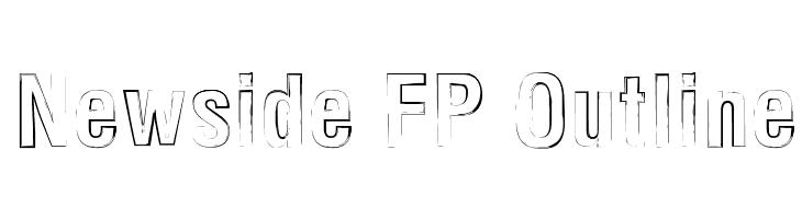 Newside FP Outline  Descarca Fonturi Gratis