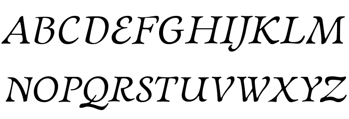 NewtSerif-Italic Fonte MAIÚSCULAS