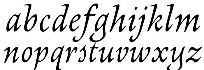 NewtSerif-Italic Fonte MINÚSCULAS
