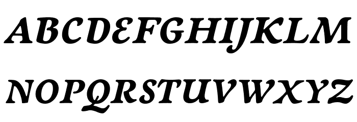 NewtSerifBold-Italic Fonte MAIÚSCULAS