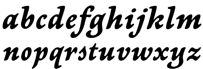 NewtSerifBold-Italic Fonte MINÚSCULAS