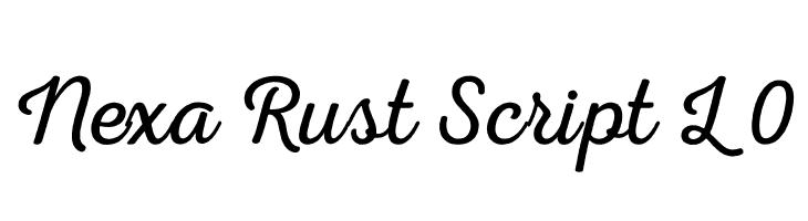 Nexa Rust Script L 0  Descarca Fonturi Gratis