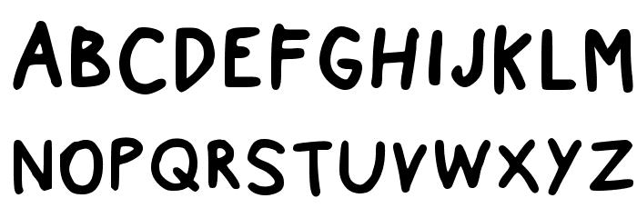 Nexzie Font Letters Num Regular フォント 大文字