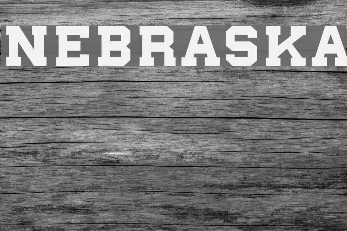 nebraska Шрифта examples