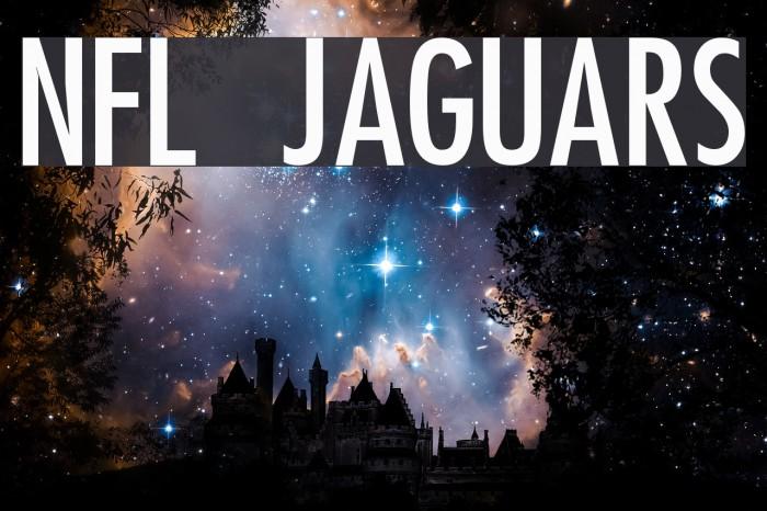 NFL Jaguars Font examples