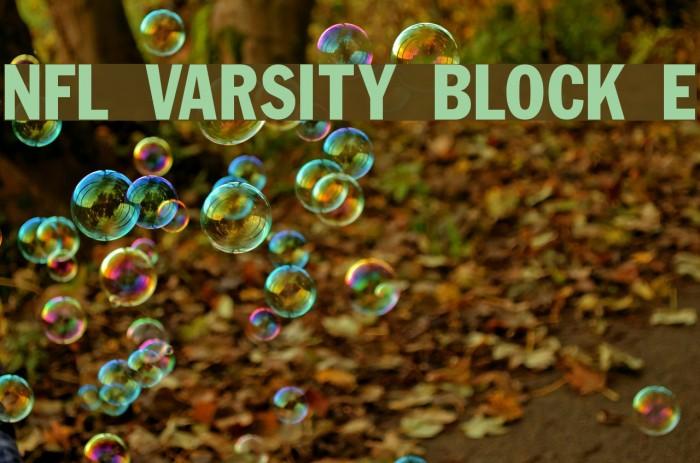 NFL Varsity Block E Fuentes examples