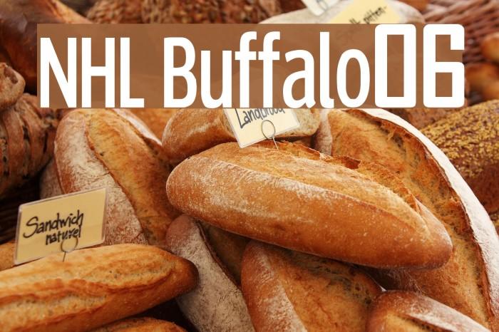 NHL Buffalo06 Font examples