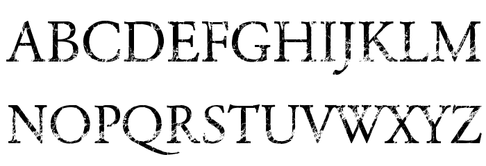 NIGHTMARE PILLS Font UPPERCASE
