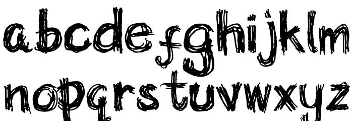 Niere Шрифта строчной