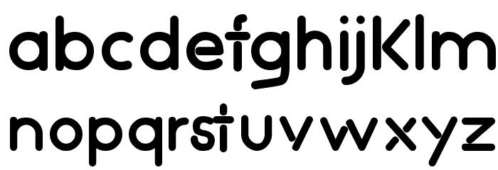 NightClubs-Bold Шрифта строчной