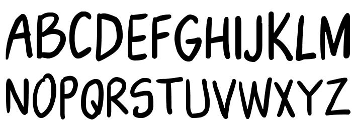 NikoFont Font UPPERCASE