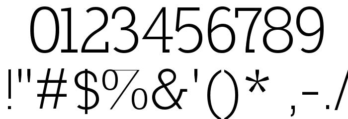 Nilland Font OTHER CHARS