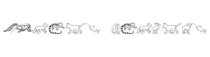 Nina's Animals  Free Fonts Download