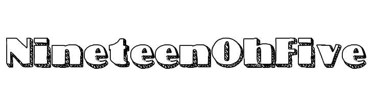 NineteenOhFive  baixar fontes gratis
