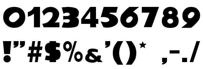 NiseSonic Font OTHER CHARS