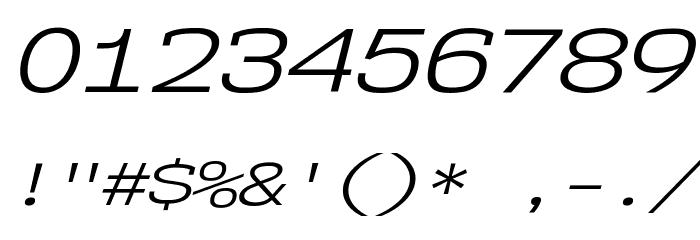 NK57MonospaceExBk-Italic Font OTHER CHARS