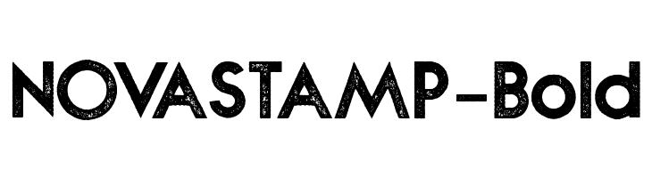 NOVASTAMP-Bold  Free Fonts Download
