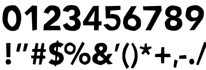 NoWayBack Шрифта ДРУГИЕ символов