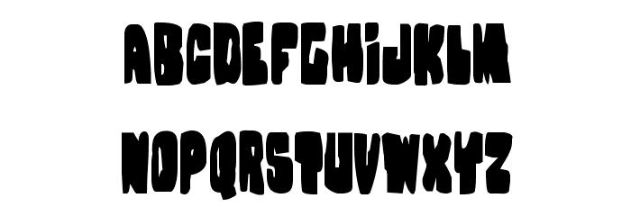 Nobody's Home Condensed Font Litere mici
