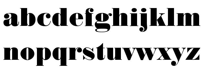 Normande BT Font LOWERCASE