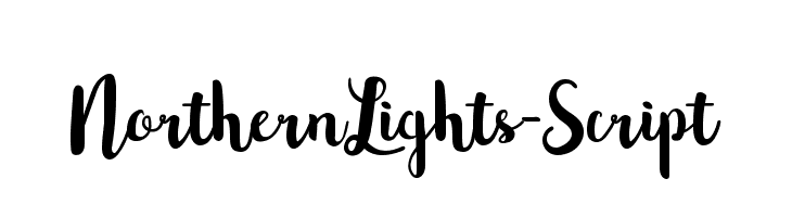 NorthernLights-Script  Free Fonts Download