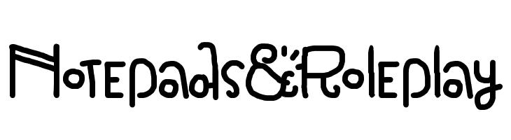 Notepads & Roleplay  Descarca Fonturi Gratis