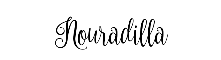 Nouradilla  Free Fonts Download