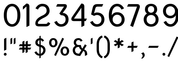 Nova Oval Font OTHER CHARS