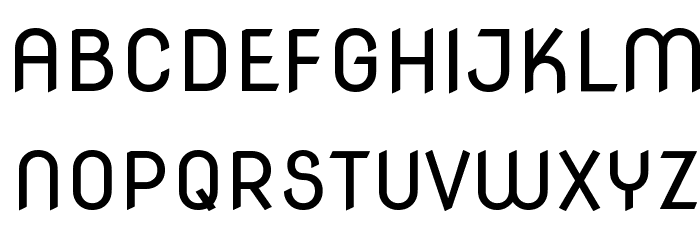 Nova Round Font UPPERCASE