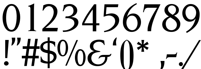 NovemberMedium Normal Font OTHER CHARS
