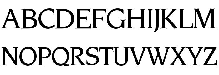 NovemberMedium Normal Font UPPERCASE