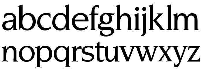 NovemberMedium Normal Font LOWERCASE